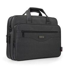 Novo negócio maleta saco do portátil oxford pano multifuncional bolsas à prova dmultifunction água carteiras de negócios homem ombro sacos viagem