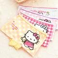 Menina roupa do bebê 4 Pçs/lote Roupas Íntimas Infantis Meninas Olá Kitty Crianças Cuecas Boxer Caricatura cueca calcinha infantil de menina