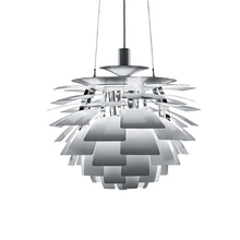 Wonderland Thousand Leaf Artichoke Lamp Pendant Light White/Silver/Red Lamp PH Creative Home Style Design for Living Room PH-41