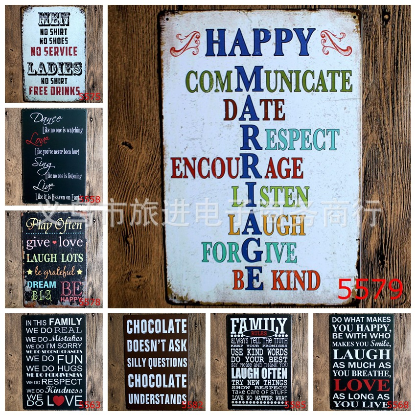 online shop xcm english poetry essay family antique retro  online shop 20x30cm english poetry essay family antique retro metal tin sign iron painting craft vintage home wall decoration aliexpress mobile