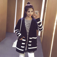 2017 Pregnant Women Clothing Autumn And Winter Large Size Sweater Cardigan Fashion Sweater Sweater Jacket