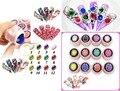12 Fancy Cyrstal UV Gel Gemstone 3D Soak Off Gel Diamond Fashion NEW 2015