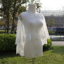 vestido outono Lace petticoat long sleeve wrap for wedding dress de novia accessories
