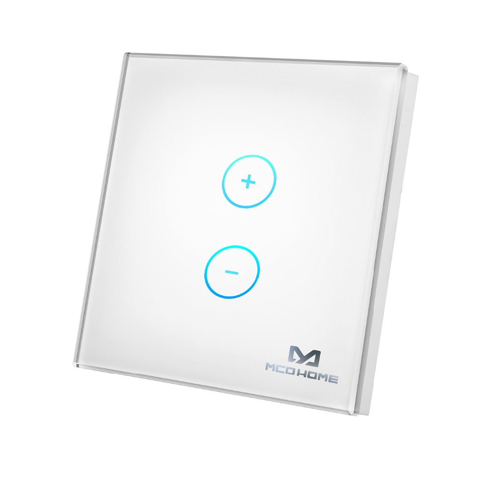 MCOHOME Z Wave Plus module touch panel Dimmer Panel DT411 for dimming With energy metering function