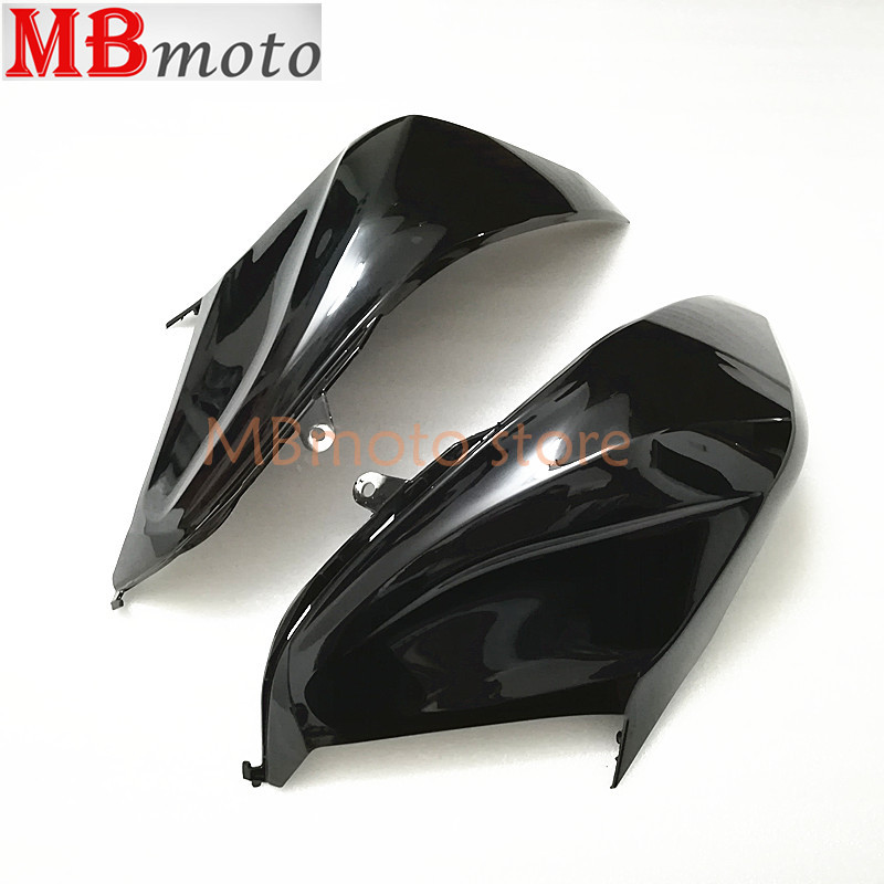 black glossy Plastic left Side or Right tank fairing Cove Fit for kawasaki z800 Z800 2013 2017 injection Fairing Cover Parts