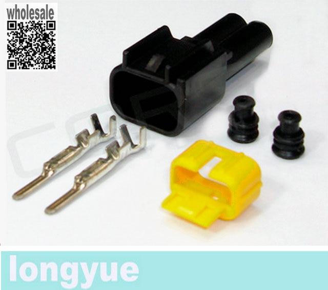 Longyue 2 kit Bobine Mannelijke Connector voor Ford Modulaire 4.6L 5.4L 4.6 5.4 6.8 Ontsteking modulaire COP Mustang Cobra