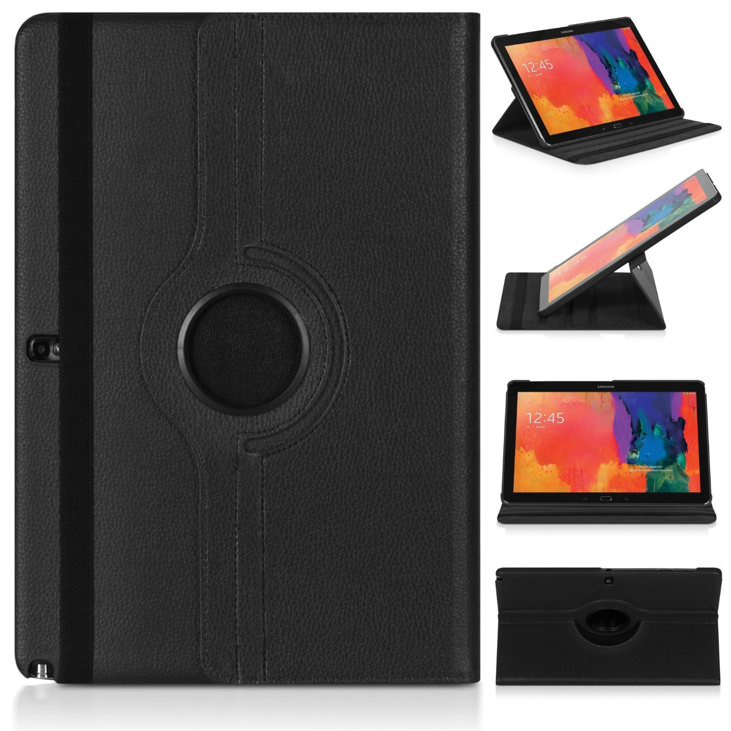 Case For Samsung Note Pro 12.2 P900 P901 P905 Cover Folio Pu Leather Stand Smart Tablet Capa Cases P900 P901 P905 12.2 Inch 2014