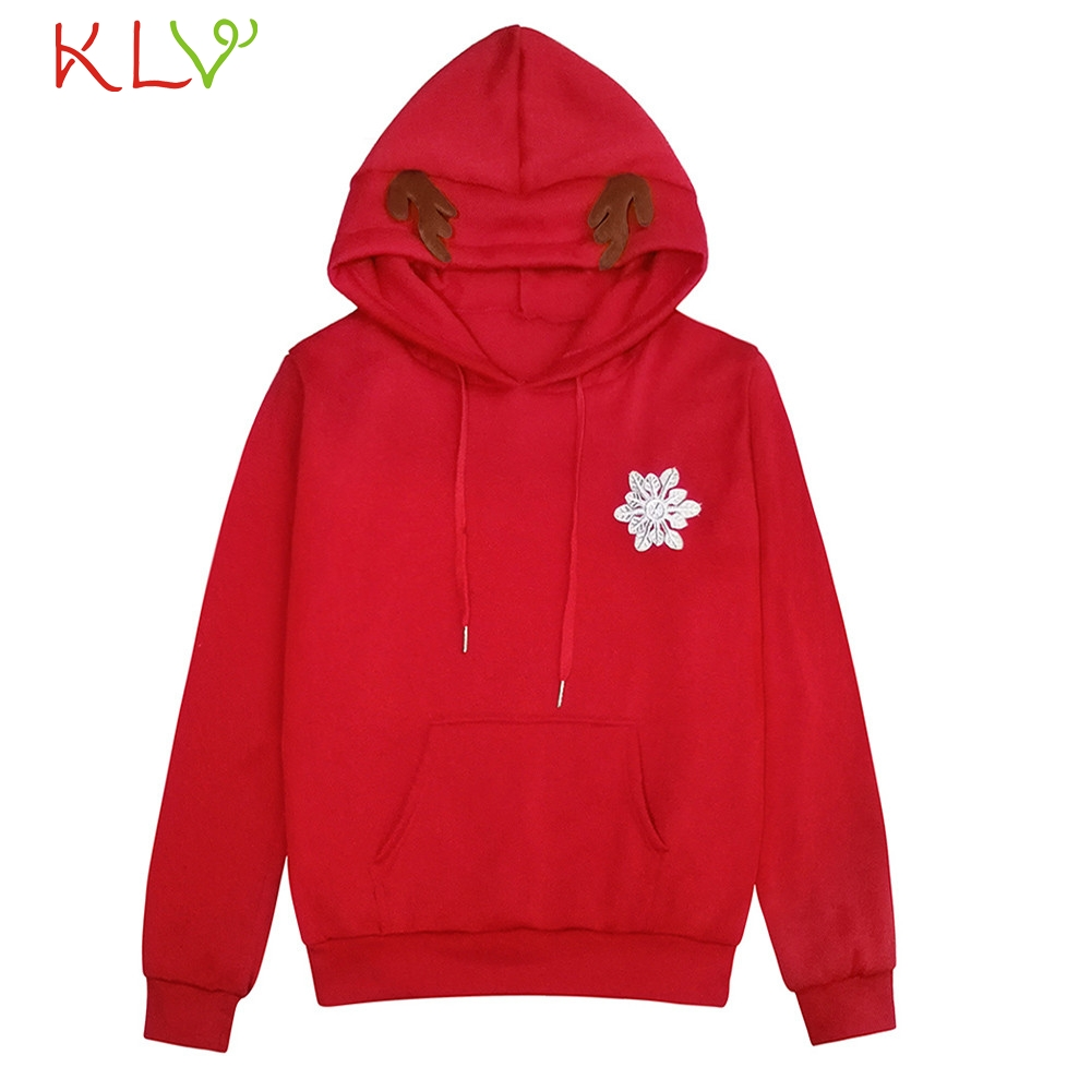 Diligent Women Sweatshirt Jacket Christmas Winter 2018 Hoodie Long Plus Size Ladies Chamarra Cazadora Mujer Coat For Girls 18oct26 To Prevent And Cure Diseases Women's Clothing