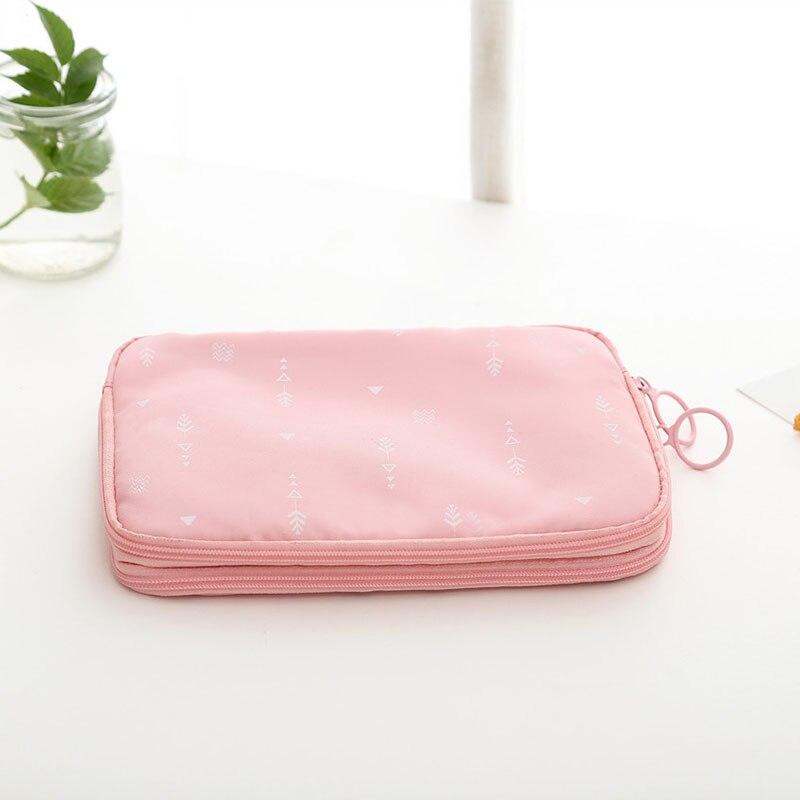 actus printing Travel Passport Bag Credit ID Card Holders Cash Wallet Purse Documents Zipper Organizer Belt Unisex