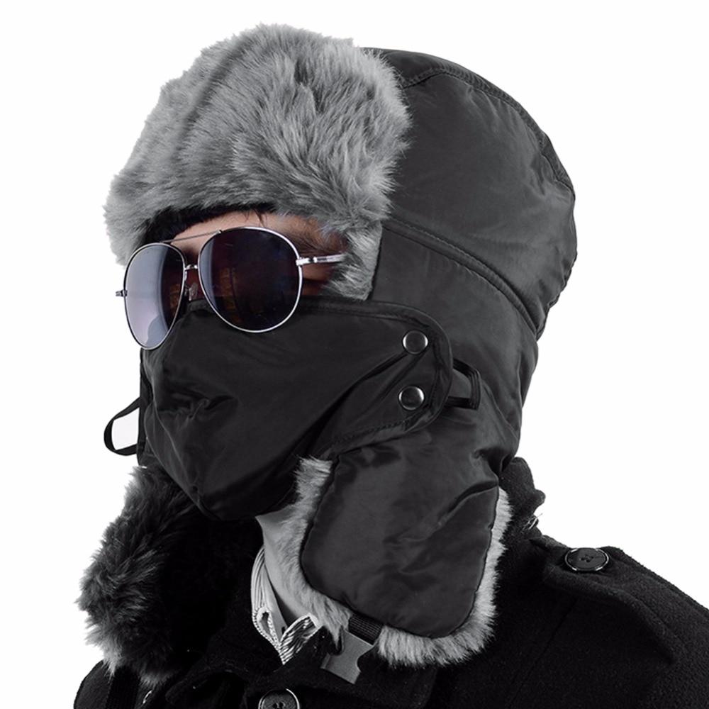 Lisli Hot Sale Bomber Hats Ushanka Russian Hat Fur Winter Hats snow aviator ear flaps cap for men&women 03S0043 батарейка d navigator alkaline 94 755 lr20 2bl 2 штуки