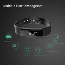 Bluetooth Bracciali e Braccialetti Smart sport fitness tracker fascia da braccio per Pedometro Sonno Tracker Chiamata di Promemoria di Controllo A Distanza di Social Media