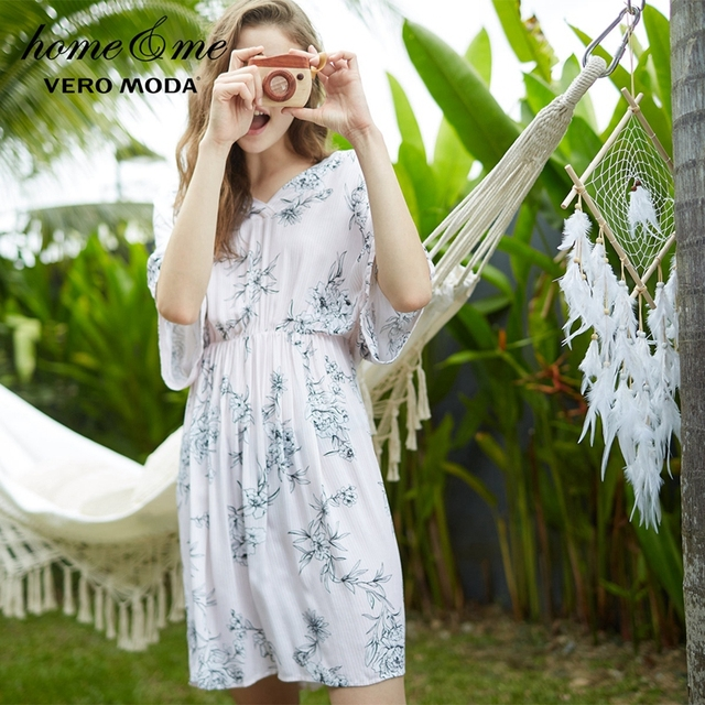 Vero Moda Stripe Print Elasticized Waistline Sleep Skirt  | 3181N2503