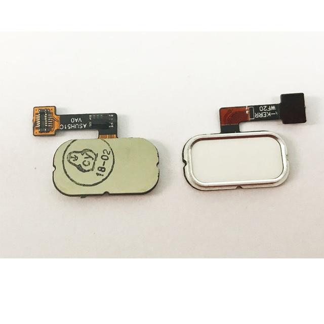3 Color Fingerprint Flex Cable For Asus Zenfone 3 ZE520KL ZE552KL Home Menu Button Flex Cable Repair Parts