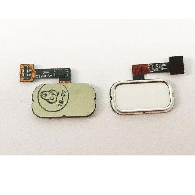 3色指紋フレックスケーブル用asus zenfone 5 3 ZE520KL ZE552KLホームメニューボタンフレックスケーブルの修理部品