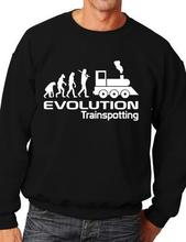 Evolution Of Trainspotting Trains Funny Adult Sweatshirt Birthday Gift More Size and Color-E146