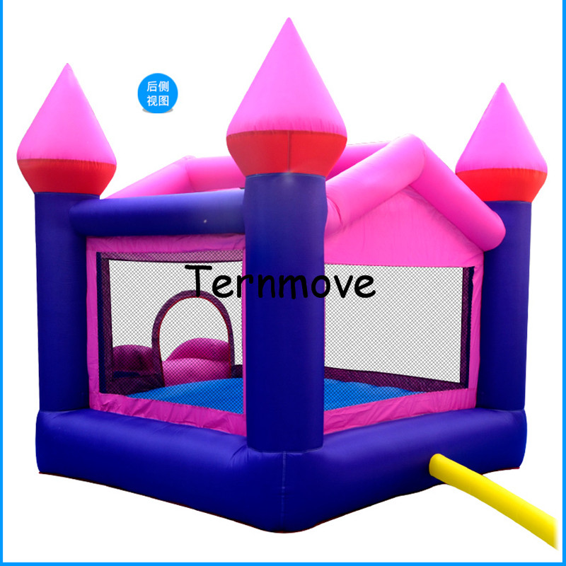 inflatable bouncer with Slide with Blower Indoor Outdoor Moonwalk Inflatable Bouncy castle Made of Nylon Jump 'n Slide Bouncer children shark blue inflatable water slide with blower for pool