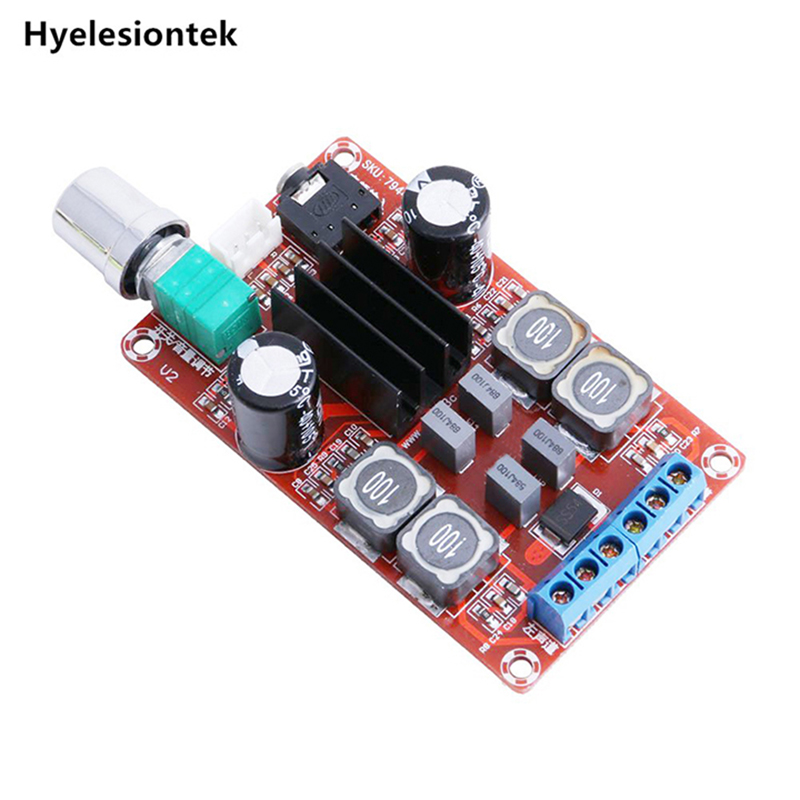 TPA3116D2 2x50 w DC24V Amplificatori di Potenza Digitale di Bordo Stereo A Doppio Canale Amplificatore Audio Consiglio