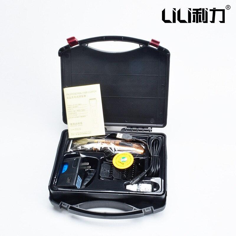 100-240 v professionnel cheveux tondeuse tondeuses forte moteur coupe de cheveux Machine rasoir pour Salon famille hommes adulte - 6