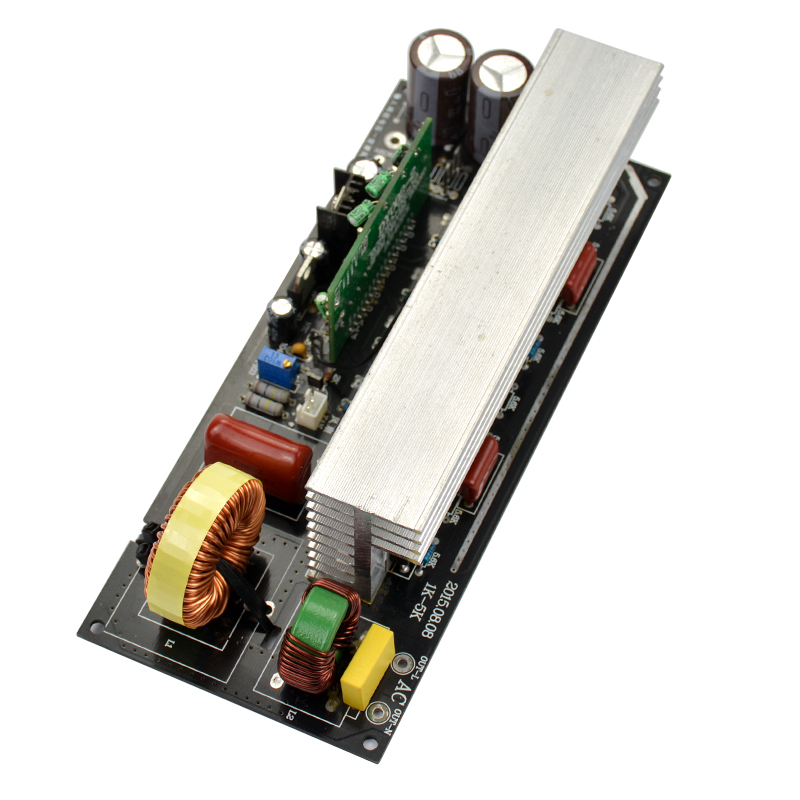 1pcs 2000W Pure Sine Wave Inverter Power Board Post Sine Wave Amplifier Board Finished Boards With Heat Sinks цена и фото