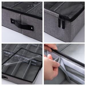 Image 5 - Luluhut Transparante schoenendoos Lade organizer voor schoenen opbergen Opvouwbare box voor schoen Thuis schoen opbergdoos onder bed opslag