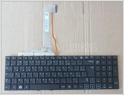 NOVA Árabe francês Teclado Do Laptop Para Samsung RF712 RF710 RF711 RF730 AF com luz de fundo Preto sem moldura