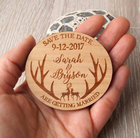 personalized deer an...