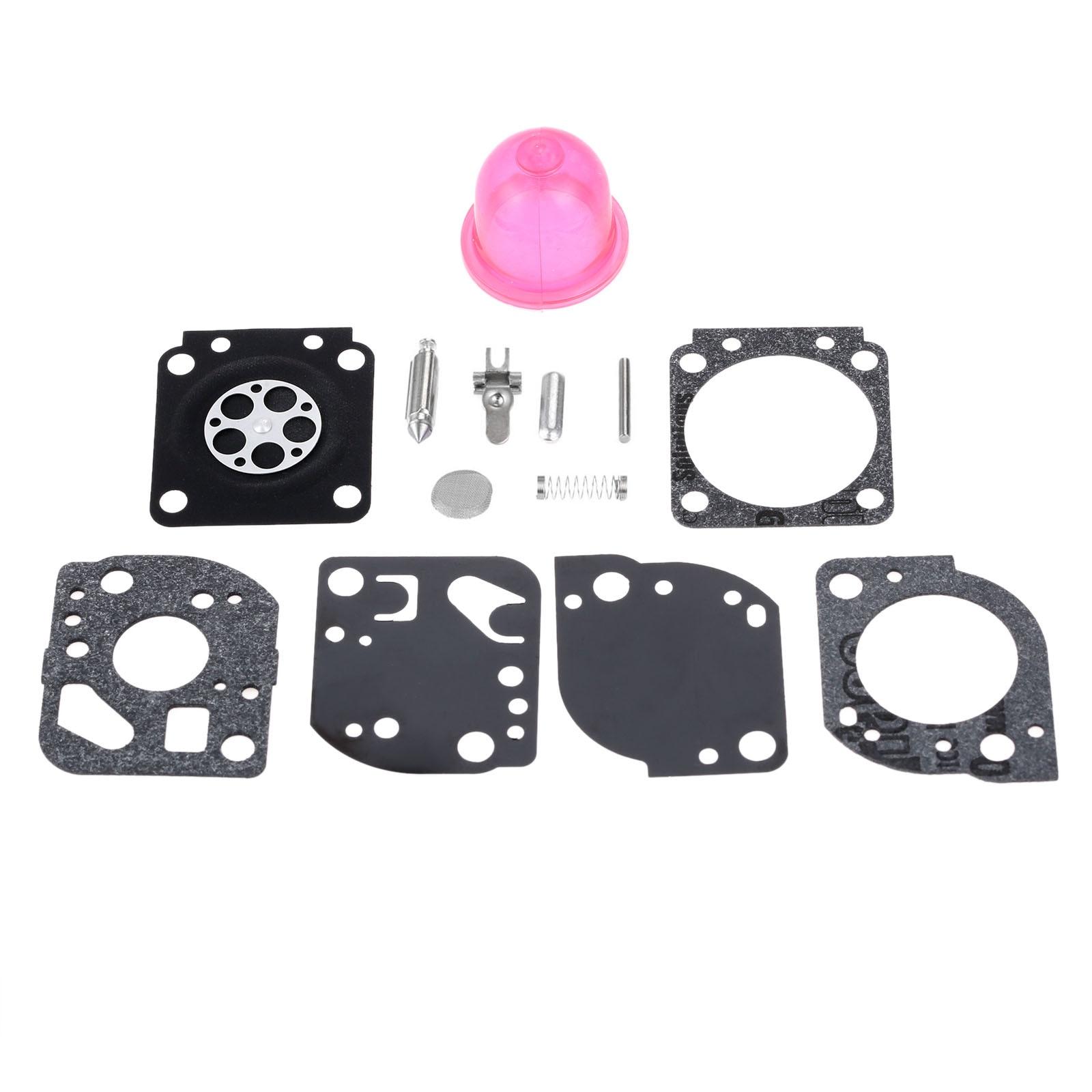 Diafragma Carburador Reconstruir Kit para Zama DRELD RB-117 C1U-W19 Carb PP025 PP325 PP26E PP125 SM706 SM705 Trimmer Chainsaw Parts