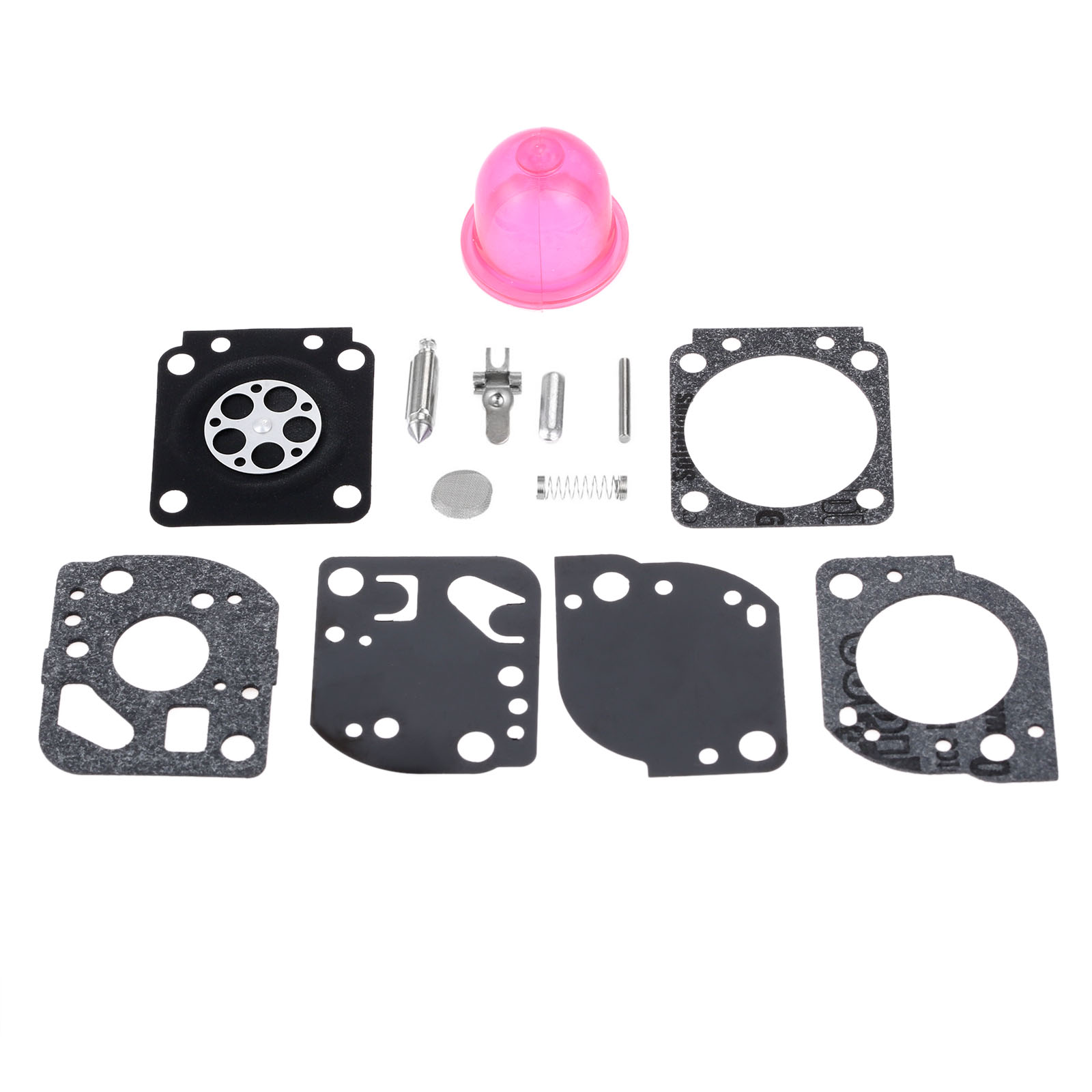 DRELD Carburetor Diaphragm Rebuild Kit for Zama RB-117 C1U-W19 Carb PP025 PP325 PP26E PP125 SM706 SM705 Trimmer Chainsaw Parts carburetor carb rebuild kit zama rb 42 for stihl 08 070 090 ts350 ts360 tillotson rk 83hl