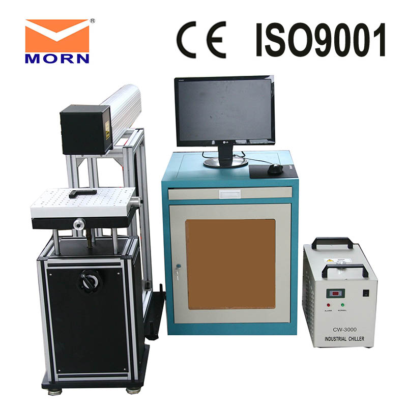 MORN CO2 synrad laser marking machine for nonmetal/laser marking machine for plastic Fine marking on the board