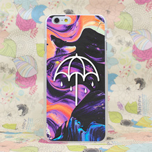 134HJ BMTH That s The Spirit Black Ultra Hard Transparent Case Cover for iPhone 4 4s 5 5s SE 5C 6 6s Plus 7 7 Plus