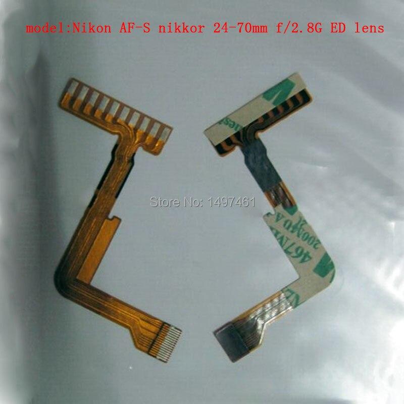 2PCS Rear Contact Cable Repair Parts For Nikon AF-S Nikkor 24-70mm F/2.8G ED Lens