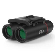 BIJIA 30×22 40×22 mini folding binoculars professional waterproof pocket telescope opera glasses for hunting travel