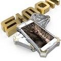 Новый Саймон Телефон случаях ТОР ЖЕЛЕЗНЫЙ ЧЕЛОВЕК Дизайн Металлического Алюминия Роскошные жесткая Броня Обложка для fundas iPhone 5 5S 6 6 S/6 S Плюс Case