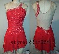 Фигурное катание Платья для женщин Красный Обувь для девочек Катание на коньках платье дорого Катание на коньках платье Для женщин конкурс