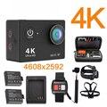 Оригинал Ультра 4 К 25FPS Wi-Fi 4 К yi 1080 P 60fps h9se sj 2 5000 h9 mi h9r Cam Действий камеры go pro hero 4 водонепроницаемый спорта камера