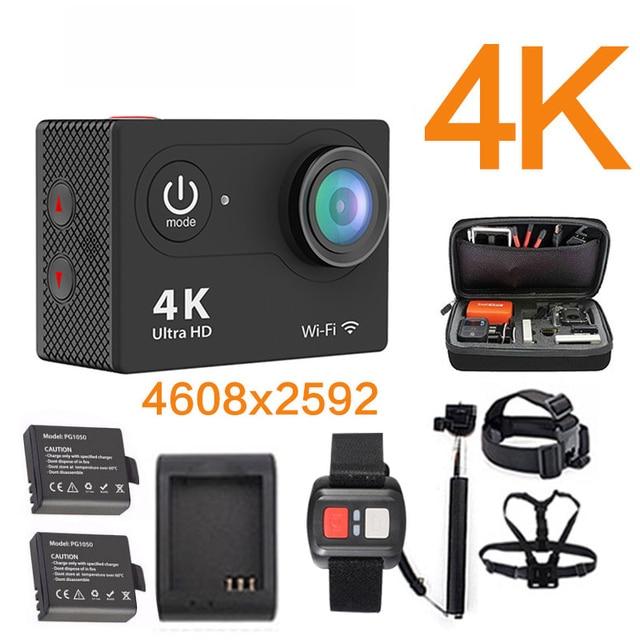 Original ultra 4 k yi 1080 p 60fps 25fps wifi 4 k h9se sj 2 5000 mi h9r h9 câmera ação ir cam pro hero 4 à prova d' água esporte câmera