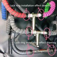 Unique design Bicycle Handlebar Tape lock rims convenient bicycle Tapes Road ring