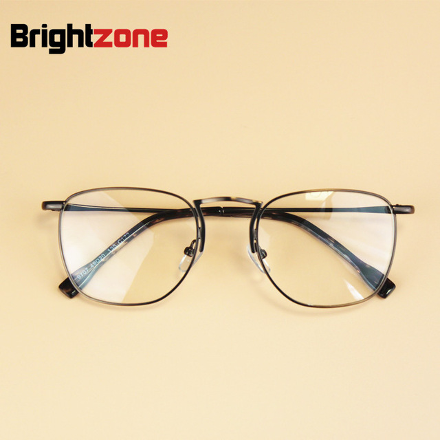 d7857d8b04c 2016 New Japan Brand Designer Women Vintage Round Frame Eyewear Men Metal  Optical Myopia Eyeglasses Computer