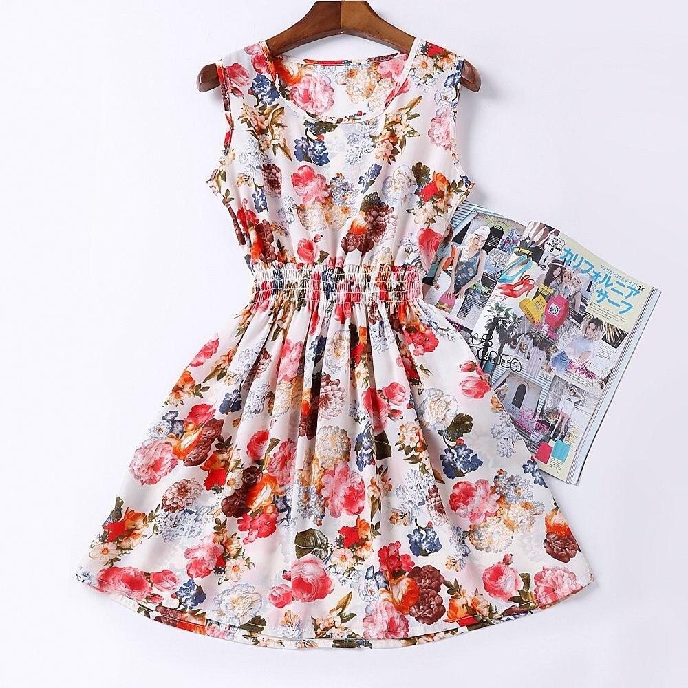 HTB1JgEdHFXXXXXVXXXXq6xXFXXXW - Summer Women Dress Vestidos Print Casual Low Price