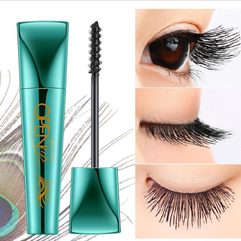 2pcs GECOMO 4D Curling mascara Lengthening volume express false eyelashes make up waterproof cosmetics Thick eyes Mascara
