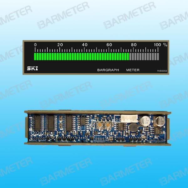 51 Section 75mm Long Green LED Single Light Column Standard Embedded Light Column Display Ammeter