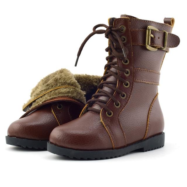 Aliexpress.com : Buy Winter style boys new child snow boots girls ...
