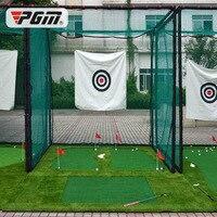 OEM гольф сетка 3*3*3 м большая клетка задний двор гольф тренировочная корзина профессиональная Боевая клетка с мягким