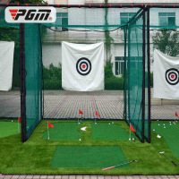 OEM Golf Cage 3*3*3 M Large Cage Backyard Golf Practice Cage Professional Combat Cage with Soft