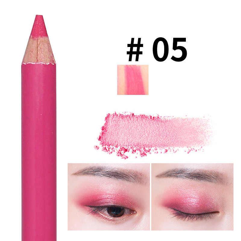 Горячая Распродажа карандаш для век блестящие тени для век, подводка для глаз ручка Двойные головки воздушные подушки головы натуральный макияж