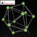 Развивающие Игрушки Бора модели кристалла 21 мм В12 Модель Кристаллической структуры Химия Молекулярное Моделирование для детей kids