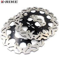 Aluminum Alloy Stainless Steel Motorcycle Front Brake Disc Roto For SUZUKI GSR400 GSR600