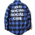 Anti Social Club Camisas Kanye West Das Mulheres Dos Homens de Inverno Casacos De Alta Qualidade ASSC assc Capuz Thrasher camisa masculina Camisa