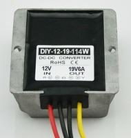 Converter DC DC Step Up 12V (9V 18V) To 19V 6A 114W Boost Power Module For Laptops Car Power Supply Adapter Regulator Waterproof