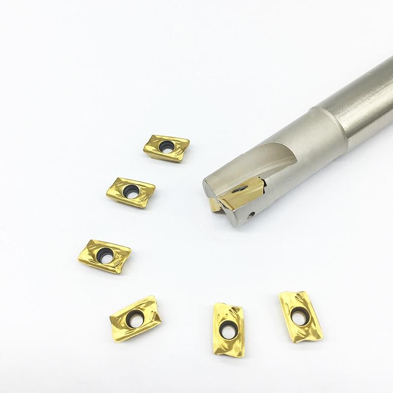 R39011T308 PDER 10PCS+1PCS R30015MM 16MM 19MM 20MM 24MM 25MM 32MM2T  Milling holder carbide insert Shoulder milling tools cutter